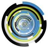 Abstract Spiral II Stock Image