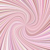 Abstract spiral ray background - vector graphic design from swirling rays in colored tones. Abstract spiral ray background - vector graphic design from swirling royalty free illustration