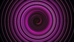 Abstract spiral rotating and twisting lines, computer generated background, 3D render background. Abstract spiral rotating and twisting lines, computer generated stock video
