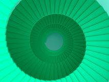 Abstract spiral staircase background. 3d - render Vector Illustration