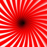 Abstract Spiral Stripe Pattern Tunnel Background. 3d Render Illustration Stock Photography