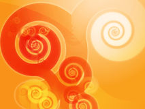 Abstract spiral swirls Stock Images
