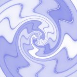 Abstract spiral texture in blue Royalty Free Stock Image