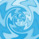 Abstract spiral texture in blue. Spectrum vector illustration