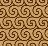Abstract spiral vector seamless background Stock Photo