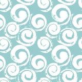 Abstract spiralen naadloos patroon vector illustratie