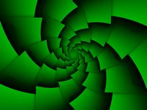 Abstract spiraling background Stock Images
