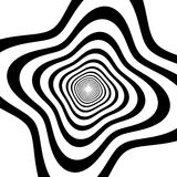 Abstract spirally background / element. Royalty Free Stock Images