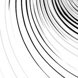 Abstract spirally, swirl element. Geometric spirals. Twisted sha Stock Photography