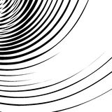 Abstract spirally, swirl element. Geometric spirals. Twisted sha Stock Image