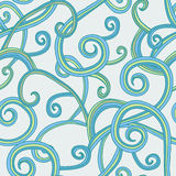Abstract spirals seamless pattern Stock Images