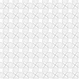 Abstract spirals. vector seamless pattern. White background Stock Photography
