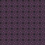 Abstract spirals. vector seamless pattern. Pink and gray background Stock Photography