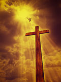 Abstract spiritual backgrounds Stock Image