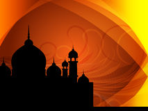 Abstract spiritual eid background Stock Photography