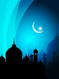Abstract spiritual eid background Royalty Free Stock Images