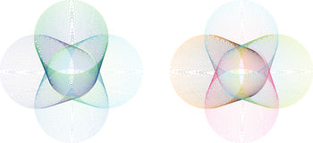 Abstract spiro shape detailed Stock Photography
