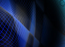Abstract spirograph background Stock Images