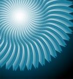 Abstract spirographelement vector illustratie