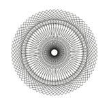 Abstract spirographelement Royalty-vrije Illustratie