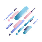 Abstract splash art digital paint. Stock Image