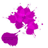 Abstract splash background Royalty Free Stock Images