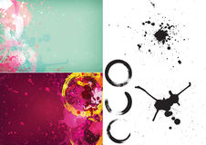 Abstract splash background Stock Images