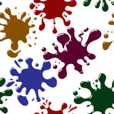 Abstract splash background. Seamless. Royalty Free Stock Image