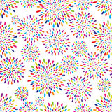 Abstract splash drop pattern. Firework flowers or lights spot background. Royalty Free Stock Image
