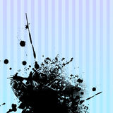 Abstract splash illustration Stock Photography