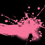 Abstract splash illustration. Royalty Free Stock Image