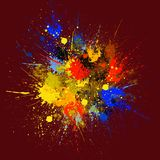 Abstract Splash Painting Stock Photos