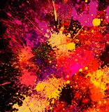 Abstract Splash Painting Stock Photography