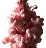 Abstract splash of pink paint Royalty Free Stock Photos