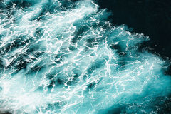Abstract splash turquoise sea water Stock Images