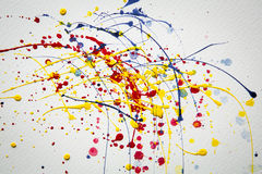 Abstract Splash watercolor background Royalty Free Stock Image
