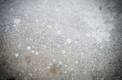 Abstract splash of white color on cement Stock Photography