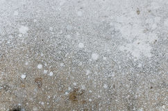 Abstract splash of white color on cement Royalty Free Stock Photography