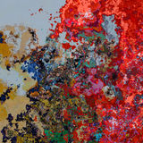 Abstract splashes Royalty Free Stock Image