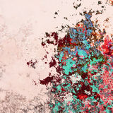 Abstract splashes background Royalty Free Stock Photography