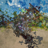 Abstract splashes Stock Photos