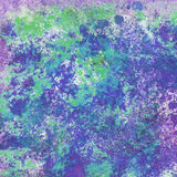 Abstract splashes digital painting Stock Image