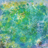 Abstract splashes digital painting Stock Images