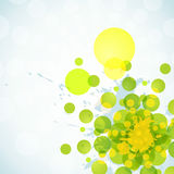 Abstract splatter background Stock Photography