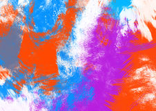 Abstract splatter background Royalty Free Stock Photos