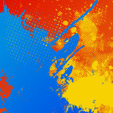 Abstract splatter background Royalty Free Stock Photography