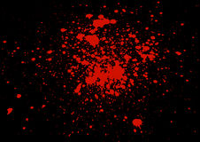 Abstract  splatter blood background Stock Photography