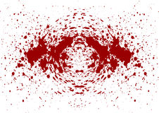 Abstract splatter blood isolate background Royalty Free Stock Images