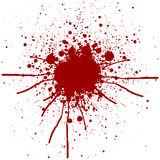 Abstract splatter red color background design.illustration vecto Stock Image