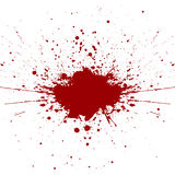 Abstract splatter red color background. illustration  Stock Photo